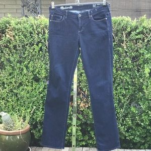 Madewell Rail Straight Leg Jeans Size 29X32